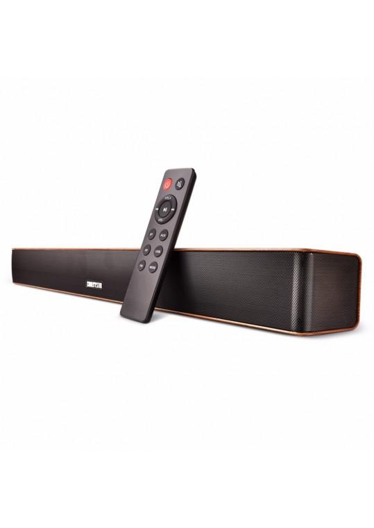 Chialstar Q5 Soil Gray Soundbar Best Sound Bars for TV, computer, laptop and PSP/MP3/MP4 etc