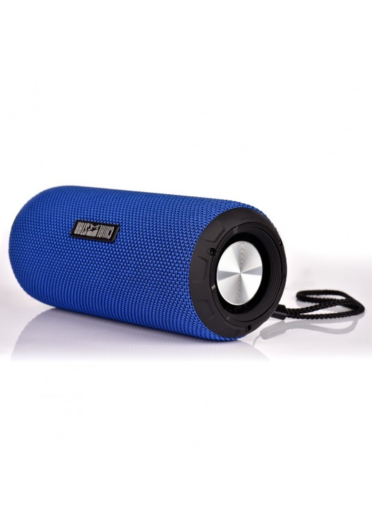 12W Portable Fabric Wireless Bluetooth Loudspeakers Musical Audio Speaker TF Aux in for Outdoor Cycling Meeting Hiking in beach