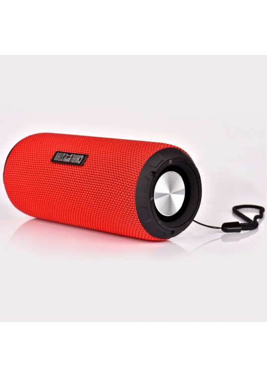 Portable Outdoor Speaker M2S Red 12W Fabric Covering Waterproof Bluetooth Speakers for PAD,Mobile,Laptop PC MP3 Player Red