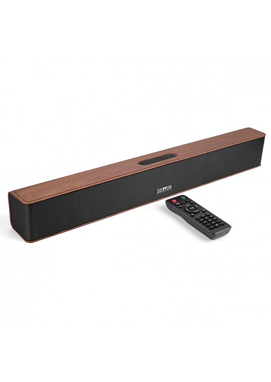 Chialstar Q5 Red Portable Wireless Soundbar Built-in Subwoofer For Smart TV and Outdoor